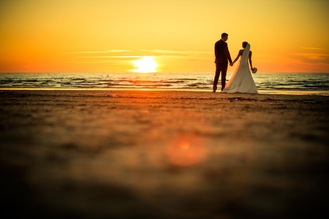 sunset wedding janis konons photography